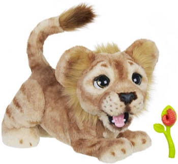 Furreal Friends Peluche Interactive Simba Rugissant Disney